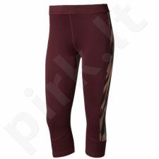 Sportinės kelnės Adidas 3/4 Techfit Capri Print 1 W BK2952