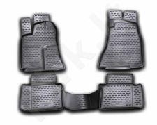 Guminiai kilimėliai 3D CHRYSLER 300C 2004-2012, 4 pcs. /L09001