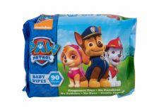 Nickelodeon Paw Patrol, Baby Wipes, drėgnosios servetėlės vaikams, 90pc