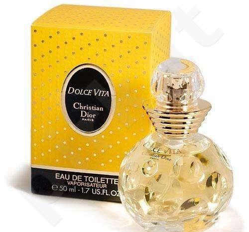 Christian Dior Dolce Vita, tualetinis vanduo (EDT) moterims, 50 ml