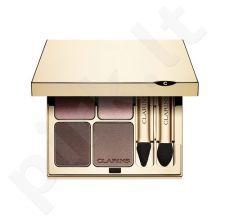 Clarins Eye Quartet Mineral Palette, kosmetika moterims, 5,8g, (04 Indigo)