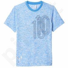 Marškinėliai Adidas Messi Icon Tee Junior AX6356