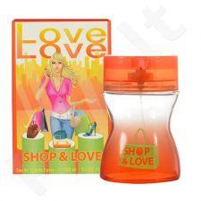 Love Love Shop & Love, tualetinis vanduo moterims, 100ml, (testeris)