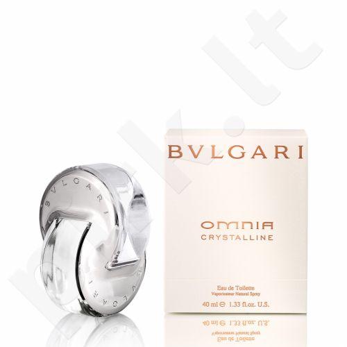 Bvlgari Omnia Crystalline, tualetinis vanduo (EDT) moterims, 40 ml