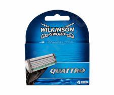 Wilkinson Sword Quattro, skutimosi peiliukų galvutės vyrams, 4pc