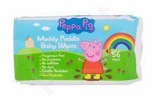 Peppa Pig Peppa, Baby Wipes, drėgnosios servetėlės vaikams, 56pc