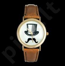 Stilingas laikrodis Mustache