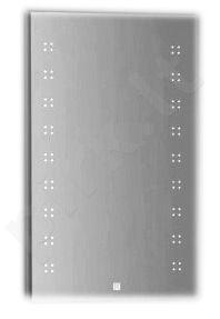 Veidrodis F602FS su integruotu LED apšvietimu