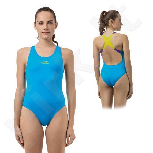 Plaukimo kostiumas moterims AQF AQUAline 21716 53 40B LE