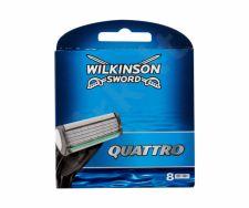Wilkinson Sword Quattro, skutimosi peiliukų galvutės vyrams, 8pc