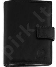 KRENIG Classic 12082 juoda  piniginė odinė , vyrams