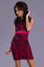 Emamoda suknelė - fuksija 8204-2