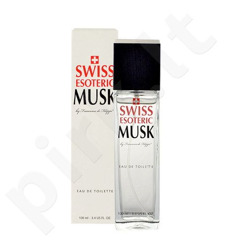 Swiss Esoteric Musk, EDT moterims, 100ml