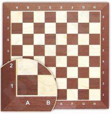 Šachmatų lenta Nr6 55*55*2 medinė