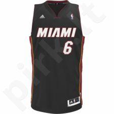 Marškinėliai krepšiniui adidas Swingman Jersey Miami LeBron James L76194