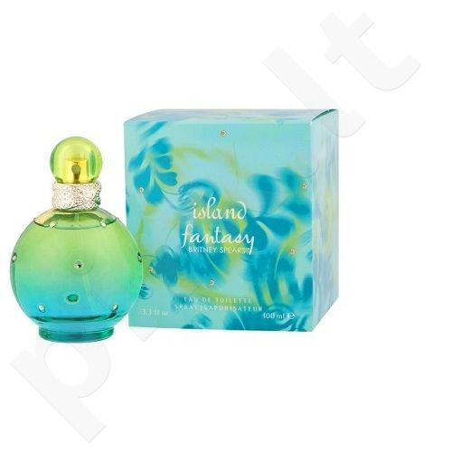 Britney Spears Island Fantasy, EDT moterims, 50ml