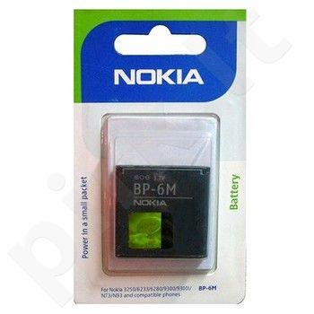 Nokia BP-6M baterija juoda