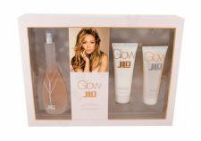 Jennifer Lopez Glow By JLo, rinkinys tualetinis vanduo moterims, (EDT 100 ml + kūno losjonas 75 ml + dušo želė 75 ml)