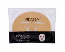 Pilaten Collagen, Crystal Gold Facial Mask, veido kaukė moterims, 60g