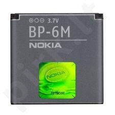 Nokia BP-6M baterija juoda be pakuotės