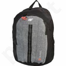 Kuprinė 4f H4L17-PCU006 juoda-pilkas