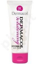 Dermacol Whitening Gommage valomoji želė, 100ml, kosmetika moterims
