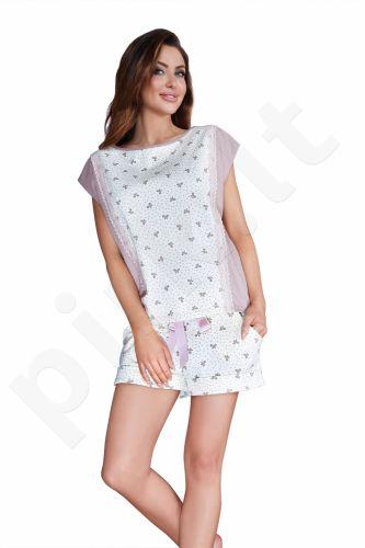 Babella pižama su šortukais KASPINĖLIAI 3008 (limituota versija iš medvilnės)