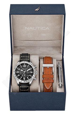 Laikrodis NAUTICA BFD 101 chronografas / rinkinys A17616G