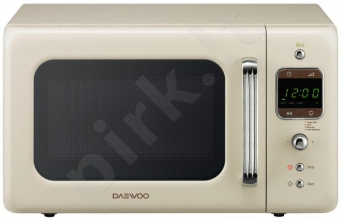 Retro Mikrobangų krosne DAEWOO KOR-6LBRC