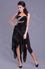 EVA&LOLA suknelė -juoda 8021-1