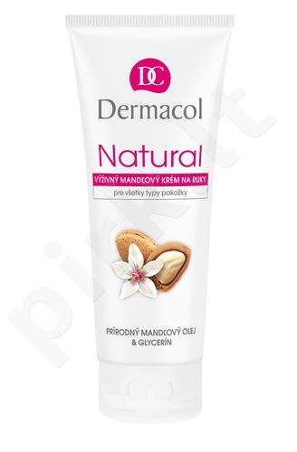 Dermacol Natural migdolinis rankų kremas , 100ml, kosmetika moterims