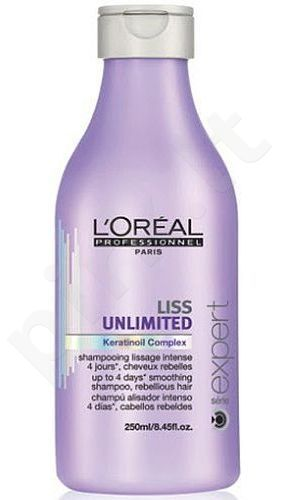 L´Oreal Paris Expert Liss Unlimited šampūnas, kosmetika moterims, 250ml