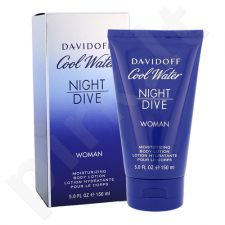 Davidoff Cool Water Night Dive, kūno losjonas moterims, 150ml