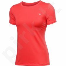 Marškinėliai treniruotėms Under Armour HeatGear Short Sleeve W 1285637-693