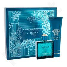 Versace Eros, rinkinys tualetinis vanduo vyrams, (EDT 100 ml + dušo želė 150 ml)