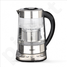 BEEM Tea and Water Glass Kettle  1110SR With temperature control