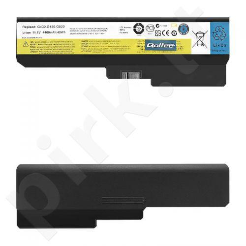 Qoltec Long Life Notebook Battery Lenovo B550 G530 G550 G555 | 11.1 V | 4400 mAh
