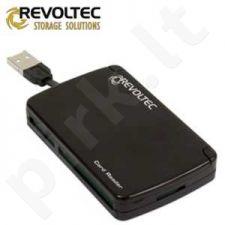 Kortelių skaitytuvas Revoltec Portable 80 in 1