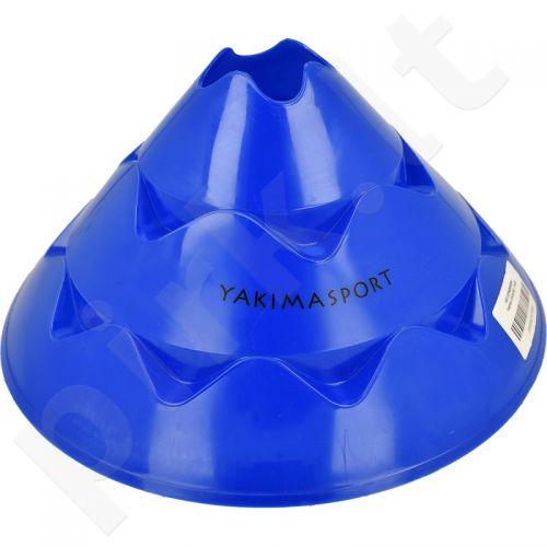 Kūgis reguliuojamu aukščiu Yakima *mėlynas