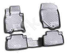 Guminiai kilimėliai 3D INFINITI FX 50 2009-2012, 4 pcs. /L30006G /gray