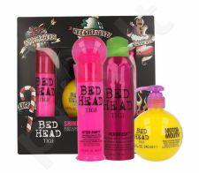 Tigi Bed Head Motor Mouth, rinkinys plaukų apimčiai didinti moterims, (Bed Head Motor Mouth 240 ml + Bed Head After Party plaukų kremas 100 ml + Bed Head plaukų šepetys purškiklis 200 ml) [pažeista pakuotė]
