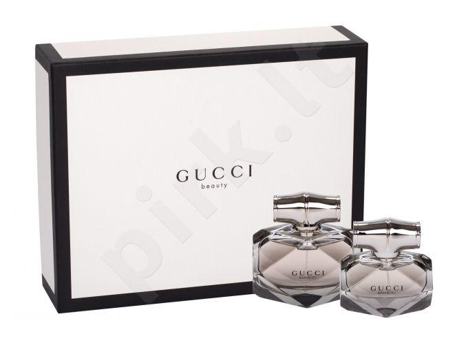 Gucci Gucci Bamboo, rinkinys kvapusis vanduo moterims, (EDP 75 ml + EDP 30 ml)