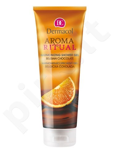 Dušo želė Dermacol Aroma Ritual Shower Gel Belgian Chocolate, 250ml