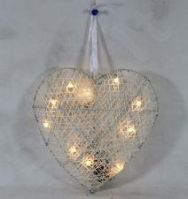 Dekoracija Širdis (LED) 88639