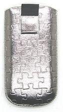 17 MAGNET PUZZLE universalus dėklas N2700 Telemax sidabrinis