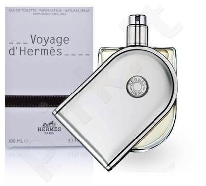 Hermes Voyage d`Hermes, tualetinis vanduo (EDT) moterims ir vyrams, 100 ml (Refillable)