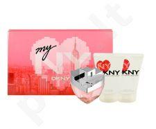 DKNY My NY rinkinys moterims, (EDP 100ml + 100ml kūno pienelis + 100ml dušo želė)