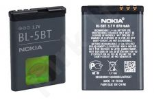 Nokia BL-5BT baterija juoda be pakuotės