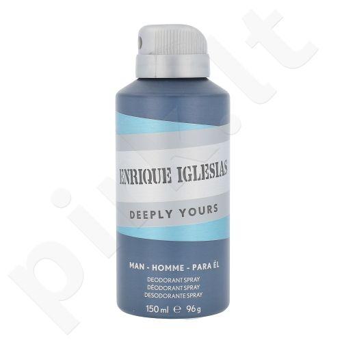 Enrique Iglesias Deeply Yours, dezodorantas vyrams, 150ml
