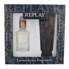 Replay Jeans Original rinkinys vyrams, (EDT 30 ml + dušo želė 100 ml)